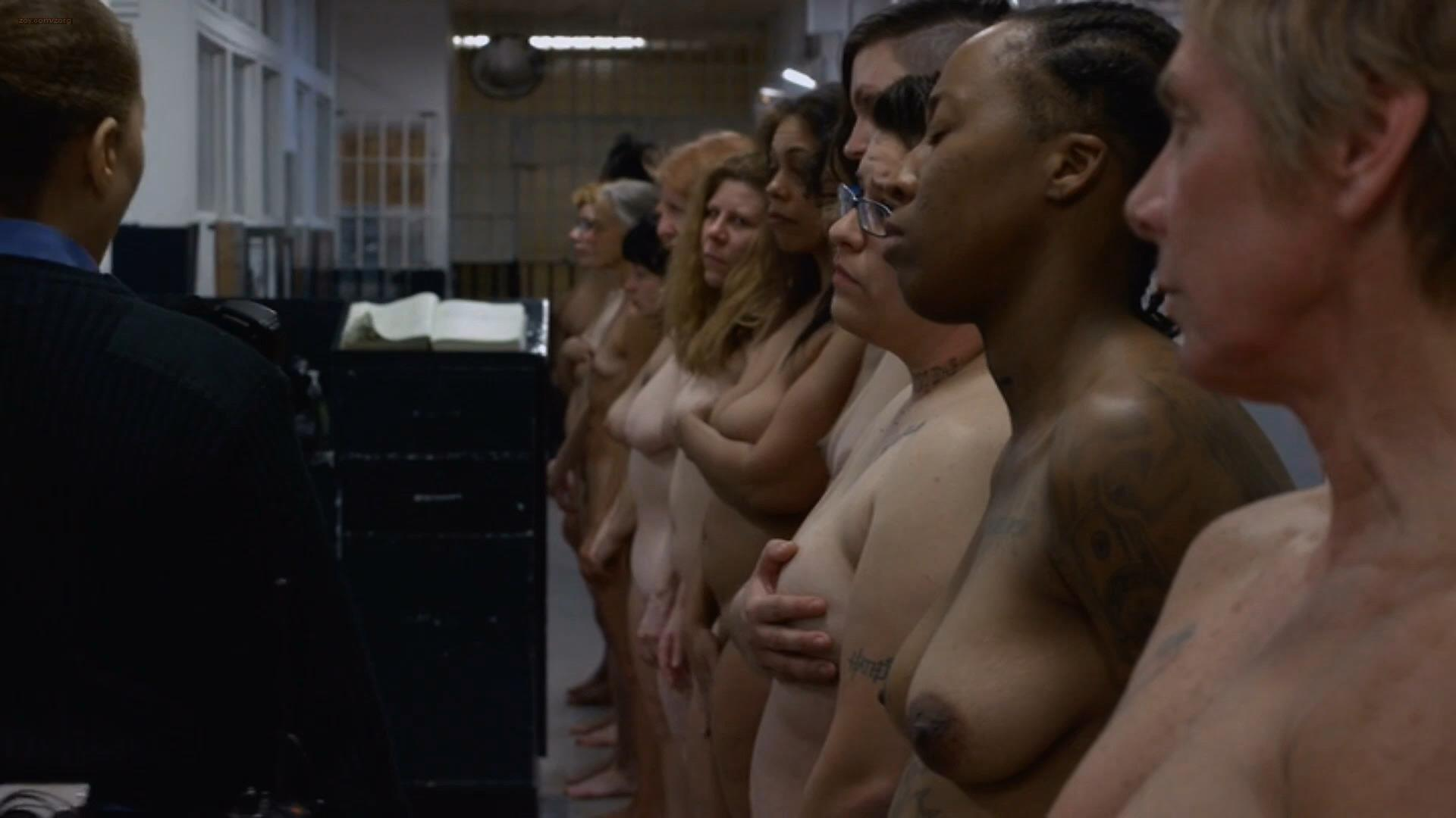 orange is the new black nudity
