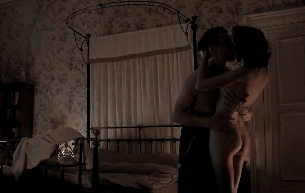 Caitriona Balfe nude topless and naked butt - Outlander (2014) s1e1 hd720p (4)