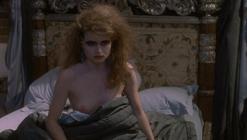 Helena Bonham Carter nude topless - Getting It Right (1989)