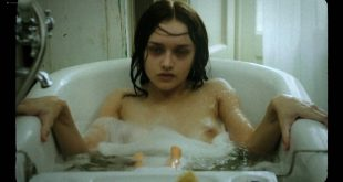 Olivia Cooke brief nude topless and Erin Richards nude side boob - The Quiet Ones (2014) hd1080p (7)
