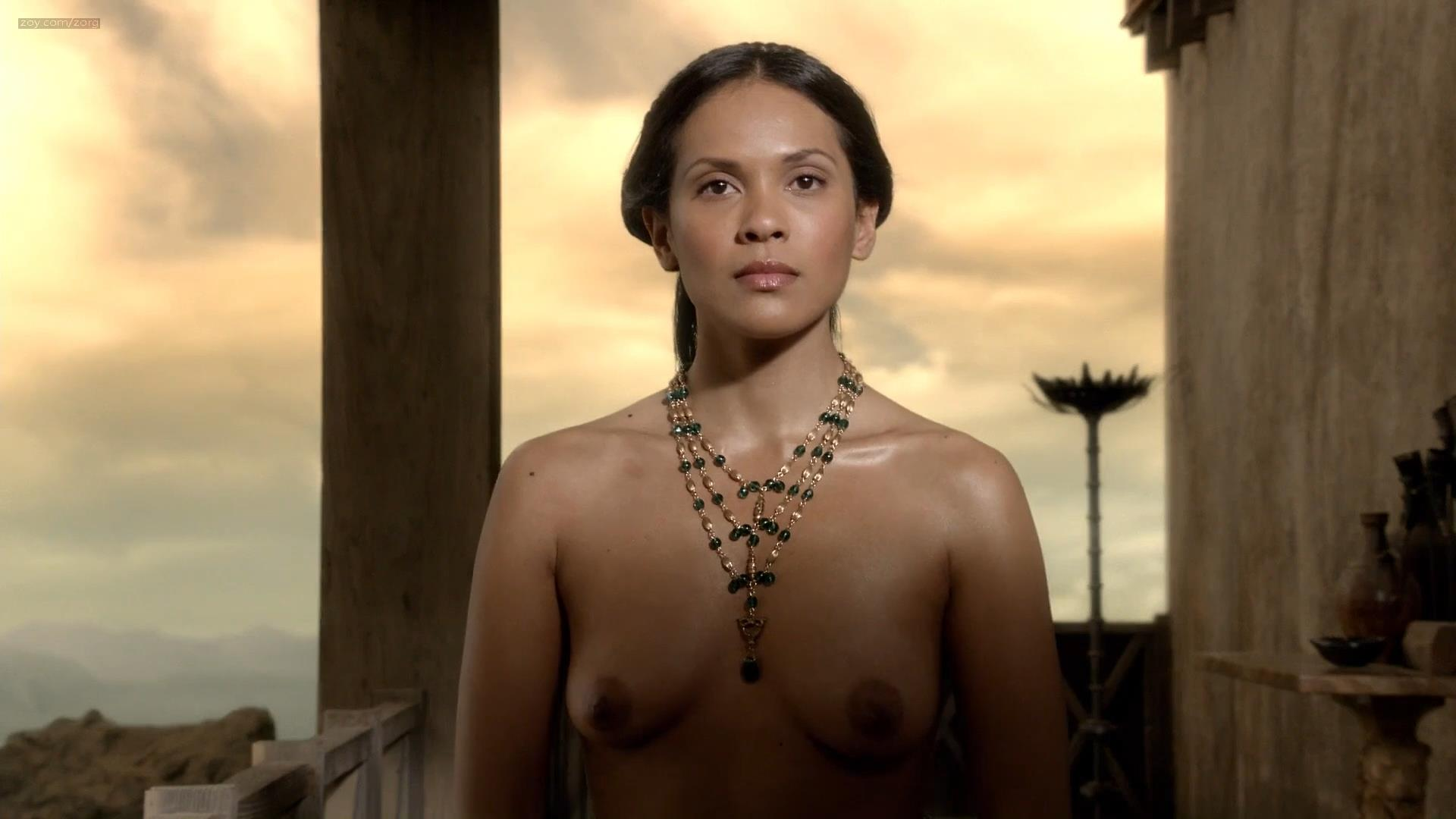 Lesley-Ann Brandt nude topless and hot sex - Spartacus (2010) s1 hd1080p (4)