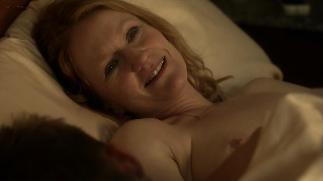 Paula Malcomson nude brief topless - Ray Donovan (2014) s2e8 hd720p (3)