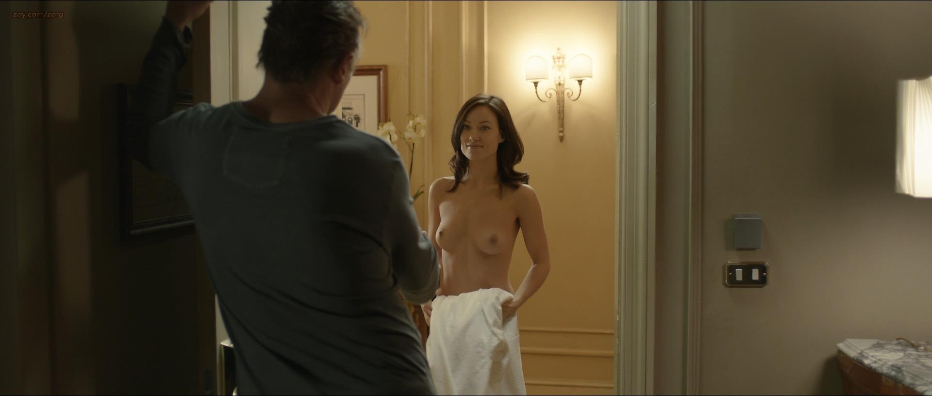 Olivia Wilde nude topless but and hot sex - Third Person (2013) hd720/1080p (6)
