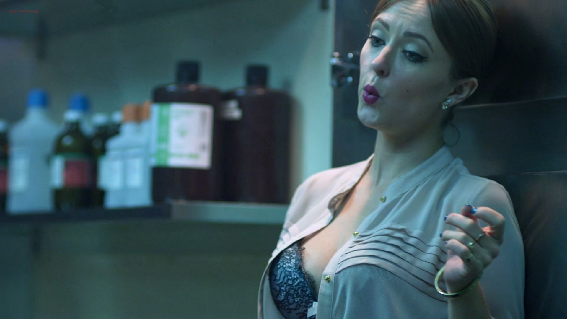 morgue sex Katharine Isabelle hot sex in the morgue - See No Evil 2 (2014) hd1080p