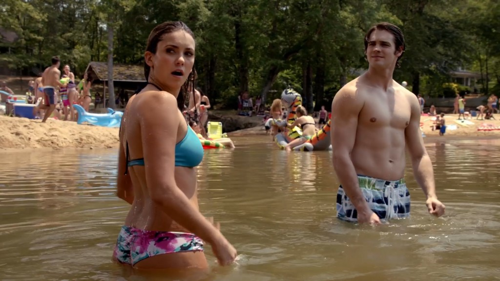 Nina Dobrev hot wet and sexy in bikini - The Vampire Diaries (2014) s6e3 hd1080p (1)