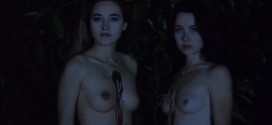 Alexandra Pic and Isabelle Teboul nude topless and Nathalie Karsenty nude - Two Orphan Vampires (1997) hd720p (4)