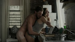 Allison Williams nude butt naked and sex and Lena Dunham sex - Girls (2015) s4e1 hd720p (3)