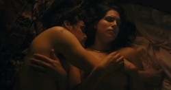 Desiree Akhavan nude topless and sex threesome - Appropriate Behavior (2014) WEB-DL hd720p (4)