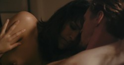 Desiree Akhavan nude topless and sex threesome - Appropriate Behavior (2014) WEB-DL hd720p (1)