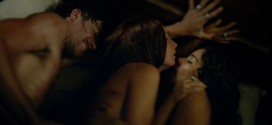 Jessica Parker Kennedy and Clara Paget nude sex threesome - Black Sails (2015) s2e5 hd720-1080p (5)