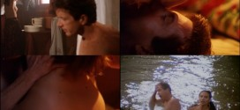 Claire Forlani nude topless sex and skinny dipping - Gypsy Eyes (1992)