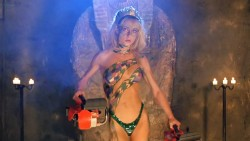 Linnea Quigley nude Esther Elise and Tricia Burns all nude - Hollywood Chainsaw Hookers (1988) hd1080p