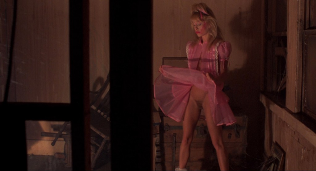 Linnea Quigley nude full frontal Jill Terashita nude topless - Night of the Demons (1988) hd100p (16)
