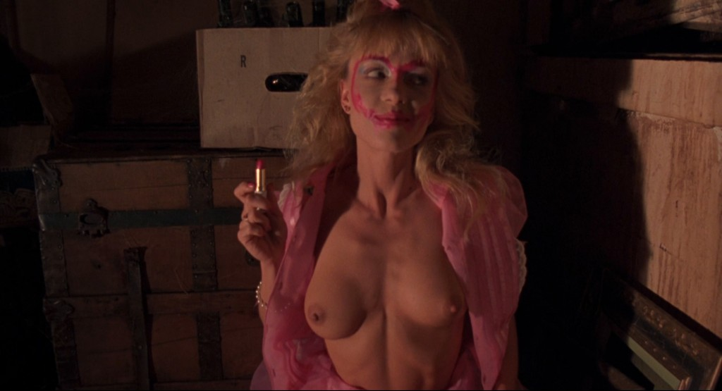 Linnea Quigley nude full frontal Jill Terashita nude topless - Night of the Demons (1988) hd100p (2)