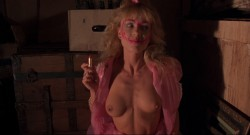 Linnea Quigley nude full frontal Jill Terashita nude topless - Night of the Demons (1988) hd1080p (2)