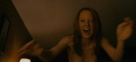 Anne Heche nude brief topless wet and hot - Cedar Rapids (2011) hd720p (8)