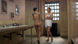 Taylor Schilling nude topless and Ruby Rose nude butt and topless- Orange Is the New Black (2015) s3e6e9 hd1080p (9)
