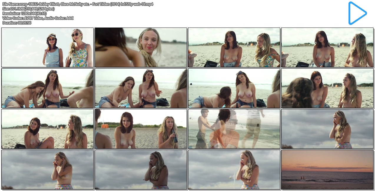 Bridey elliott and clare mcnulty nude fort tilden 4