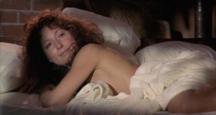 Anna Maria Monticelli nude brief topless and sex Lesley-Anne Down not nude but hot - Nomads (1986) (1)