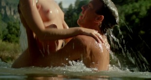 Madeleine Stowe nude topless wet and uber hot - Revenge (1990) hd1080p BluRay (16)