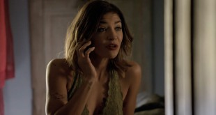 Jessica Szohr hot and sexy in bra - Complications (2015) S01E08 HD 720p (3)