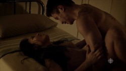 Stephanie Bennett nude sex and Lia Lam nude sex too - The Romeo Section (2015) S01E01 HD 720p (14)
