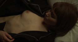Cate Blanchett nude and Rooney Mara nude topless and lesbian sex - Carol (2015) HD 1080p BluRay (9)