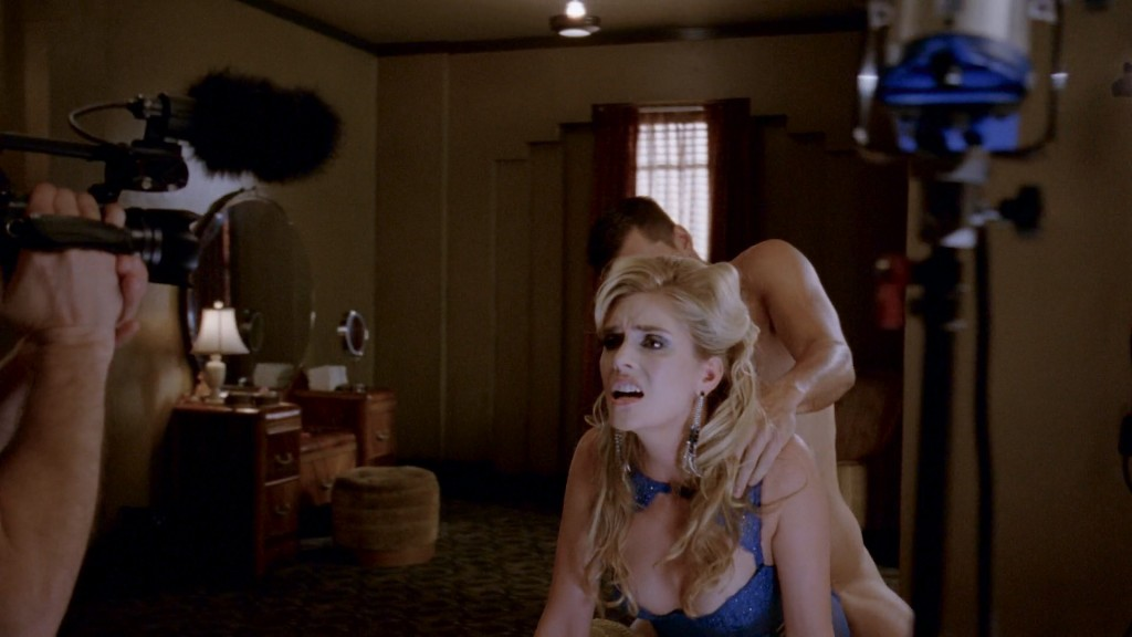 Lady Gaga nude topless with pasties and Maliabeth Johnson hot doggystyle - American Horror Story (2015) S05E09 HD 1080p (2)