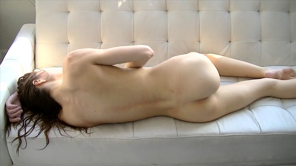 Alissa Lies Face Down On The Bed Letting Us See Her Stunning Ass Czechav 1