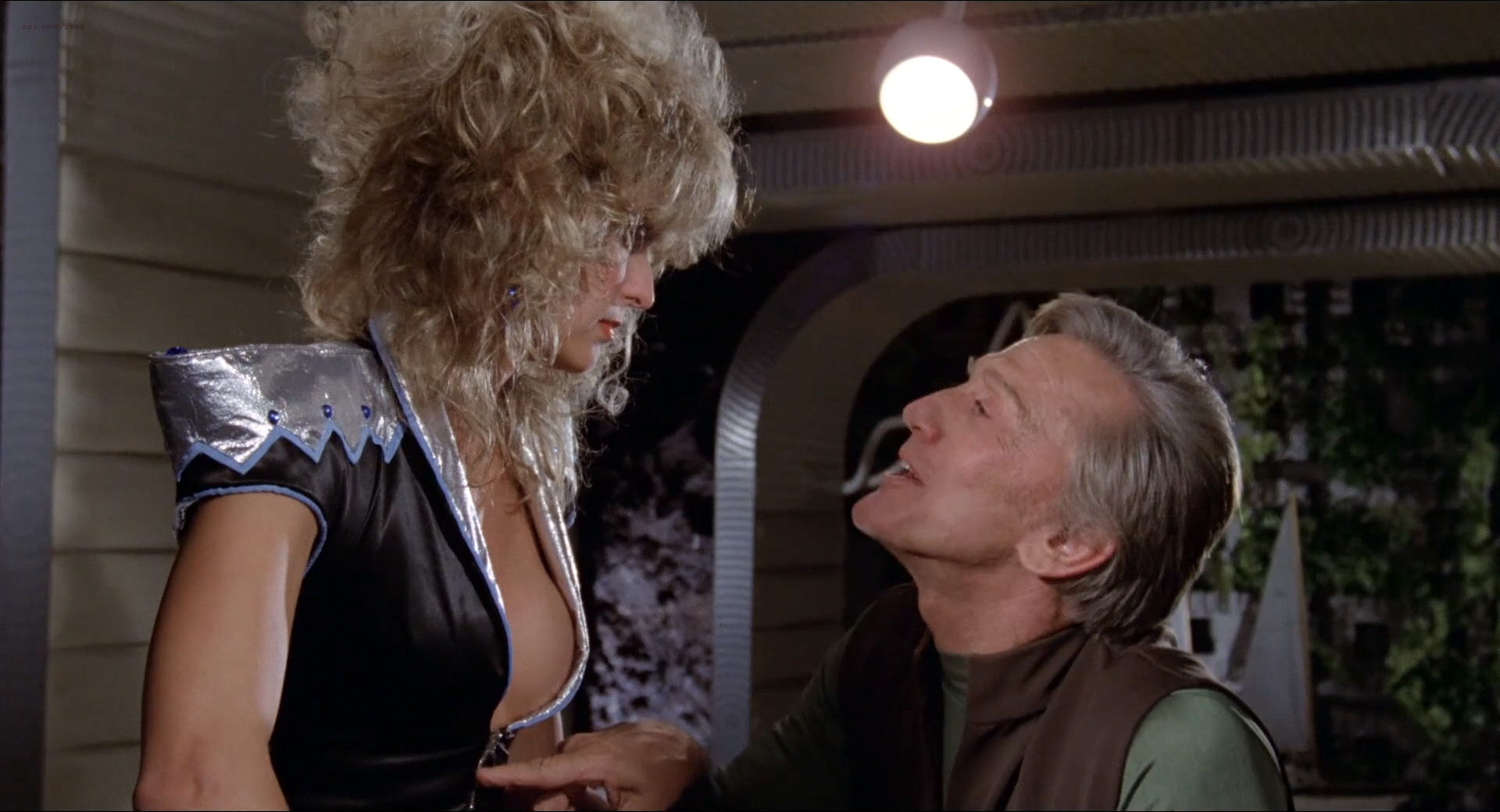 Farrah Fawcett nude brief topless and very hot - Saturn 3 (1980 ...
