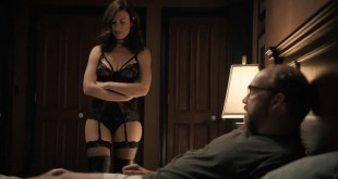 Maggie Siff hot lingerie and Malin Akerman hot and leggy - Billions (2016) S01E03 HDTV 720p (12)