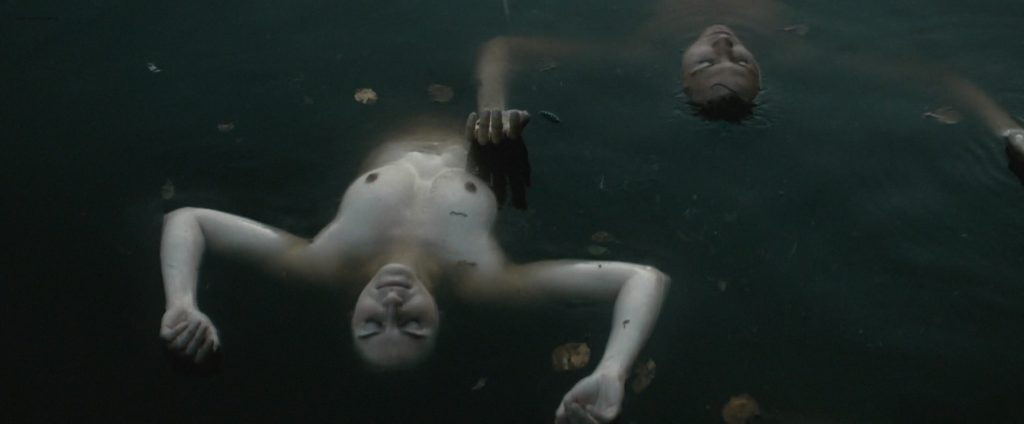 Hannah Murray nude butt skinny dipping other's nude too - Bridgend (UK-2015) HD 1080p (6)