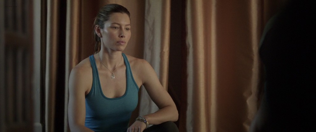 Jessica Biel hot and sexy and Zosia Memet see through bra - Bleeding Heart (2015) HD 720p WEB-DL (12)