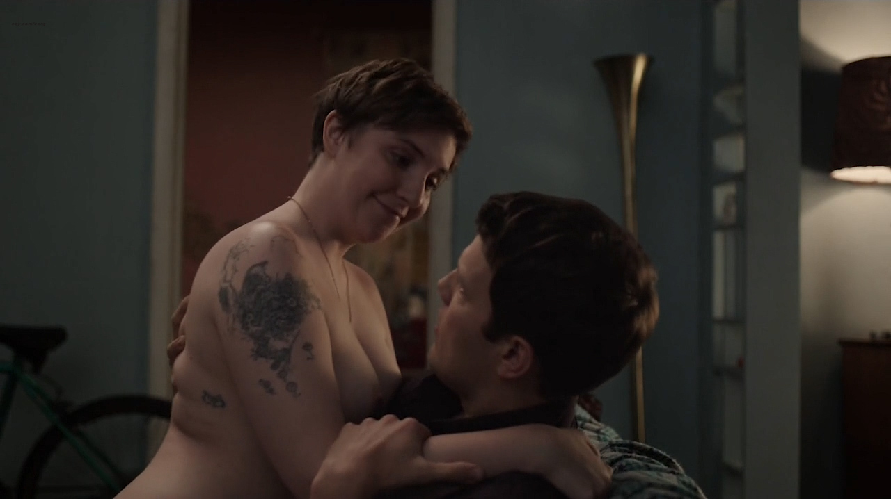 Lena dunham in girls s06e08