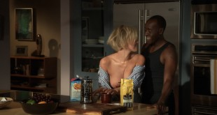 Kristen Bell hot cleavage and Nicky Whelan nude brief boobs - House of Lies (2016) S05E01 HDTV720p (14)