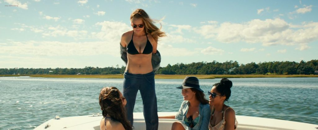 Teresa Palmer hot bikini and Maggie Grace, Alexandra Daddario hot too - The Choice (2016) HD 1080p Web-dl (4)