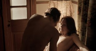 Paige Patterson nude boobs and butt while ridding a dude - Quarry (2016) s1e2 HD 1080p (2)