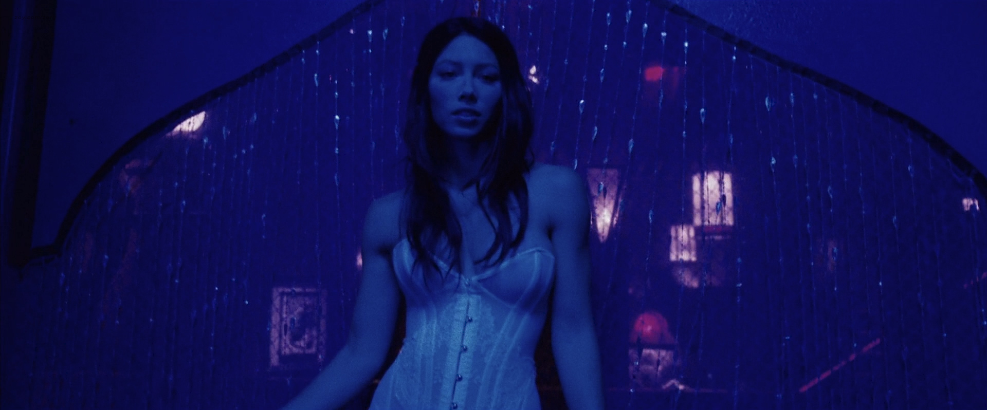 Jessica Biel Striptease and Nude in Powder Blue - XVideos