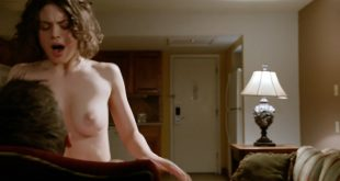 Conor Leslie nude topless and hot sex - Graves (2016) s1e7 HD 720p (5)