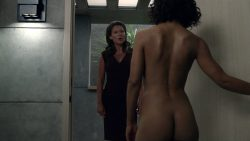 Thandie Newton nude bush and boobs Angela Sarafyan nude and Tessa Thompson butt naked - Westworld (2016) s01e07 HD 1080p (10)