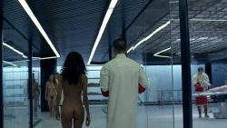 Thandie Newton nude bush and boobs Angela Sarafyan nude and Tessa Thompson butt naked - Westworld (2016) s01e07 HD 1080p (4)