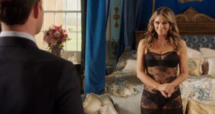 Elizabeth Hurley hot and sexy in lingerie - The Royals (2016) s3e1HD 1080p (2)