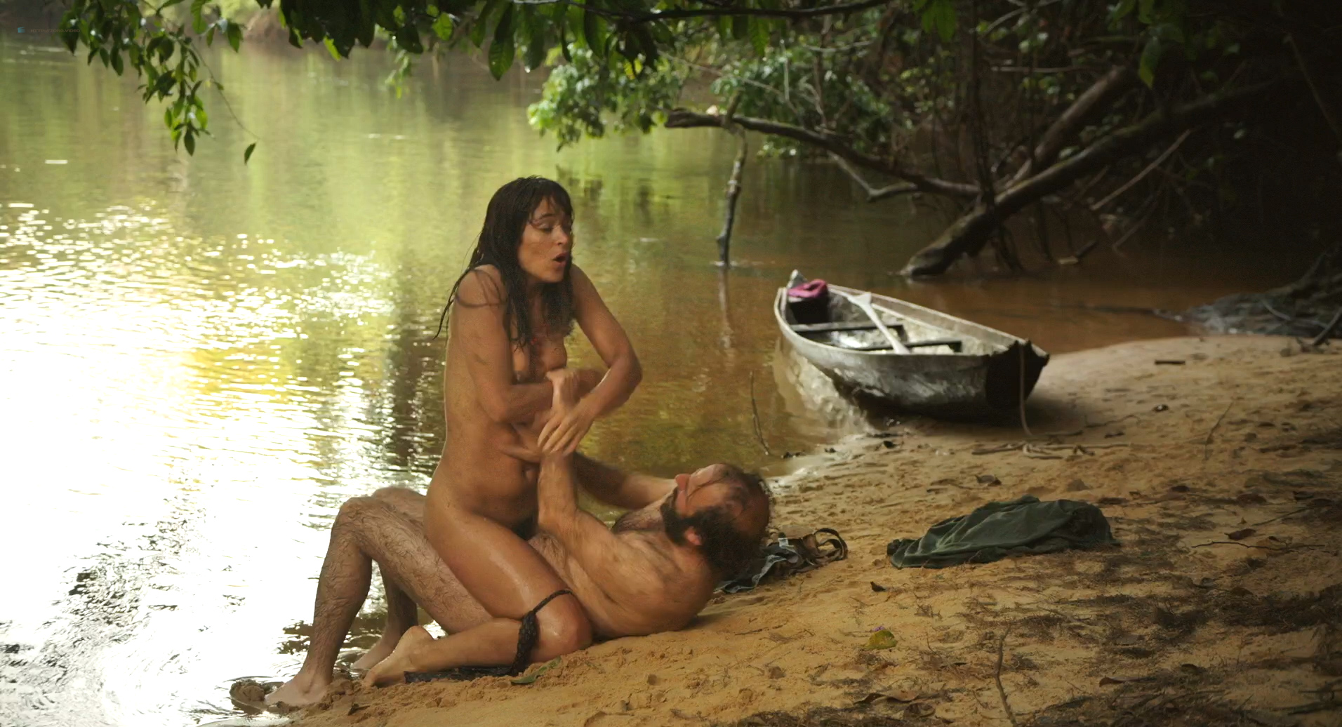 nude girls in jungle photo