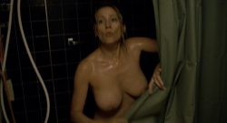 Paula Morgan nude topless in the shower – Closet Monster (2015) HD 1080p (1)