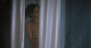 Laura Morante nude topless in the shower- The Dancer Upstairs (ES-2002) HD 1080p (2)