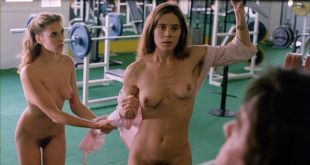 Elizabeth Hurley nude topless Bridget Fonda, Valérie Allain and other's nude bush - Aria (1987) HD 1080p BluRay (8)