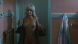 Linnea Quigley nude full frontal and Judy Tatum nude topless - Witchtrap (1989) HD 720p (5)