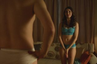 Alison Brie hot and sexy in bra and panties - No Stranger Than Love (2015) HD 1080p WEB (9)
