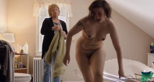 Lena Dunham nude full frontal Allison Williams lingerie - Girls (2017) s6e10 HD 720p (2)