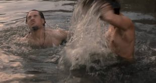 Peri Baumeister nude brief topless while skinny dipping – The Last Kingdom (2017) s2e6 HD 1080p (2)